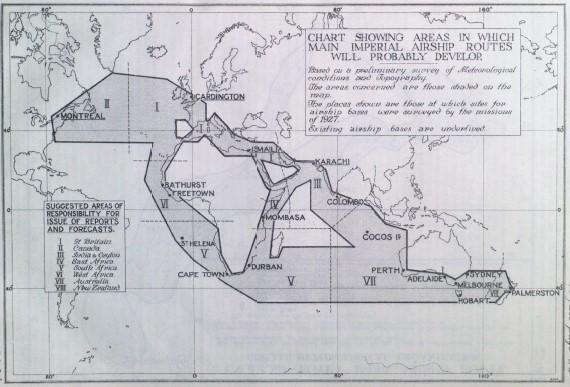 airship routes 1929