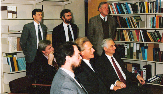 Heseltine at MO, 1980s