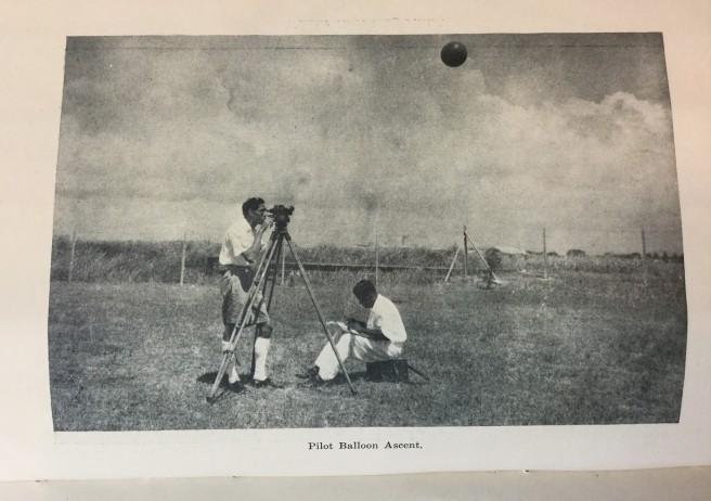 Pilot balloon - annual report 1949